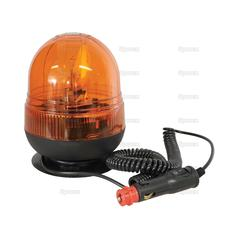 Magnetic Amber Halogen Beacon 12/24v 113184 2