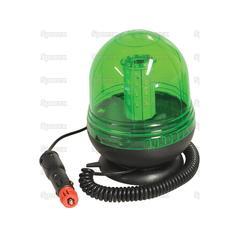 Magnetic Green LED Beacon 12/24v 118999 2