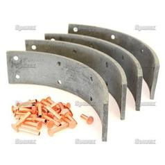 Brake Lining Kit Shoe, Length: 207mm 57943 2