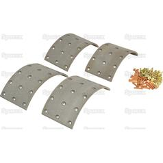 Brake Lining Kit Shoe, Length: 207mm 57966 2